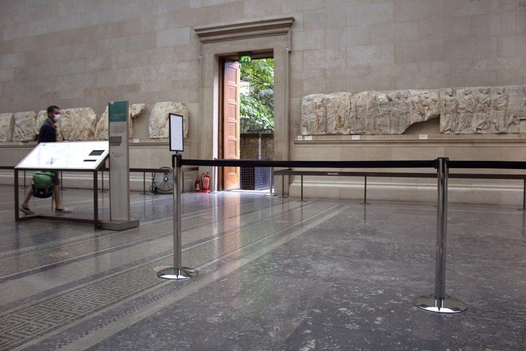 Personenleitsystem Museum