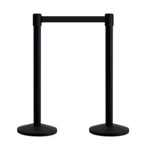 QueueWay® Economy Stretch Belt Barrier – Twin Pack