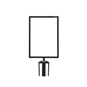 Tensabarrier® Sign Holder for Retractable Barrier A4 Portrait