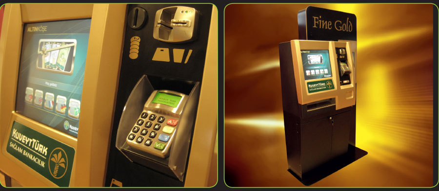 Tensator's Multi-Service Machine with card payment facilities for Kuveyt