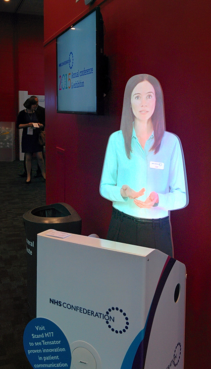Tensator Virtual Assistant at the NHS Confederation Annual Conference 2015