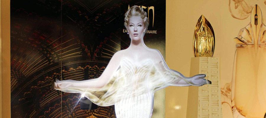 Clarins Virtual Goddess developed by Tensator
