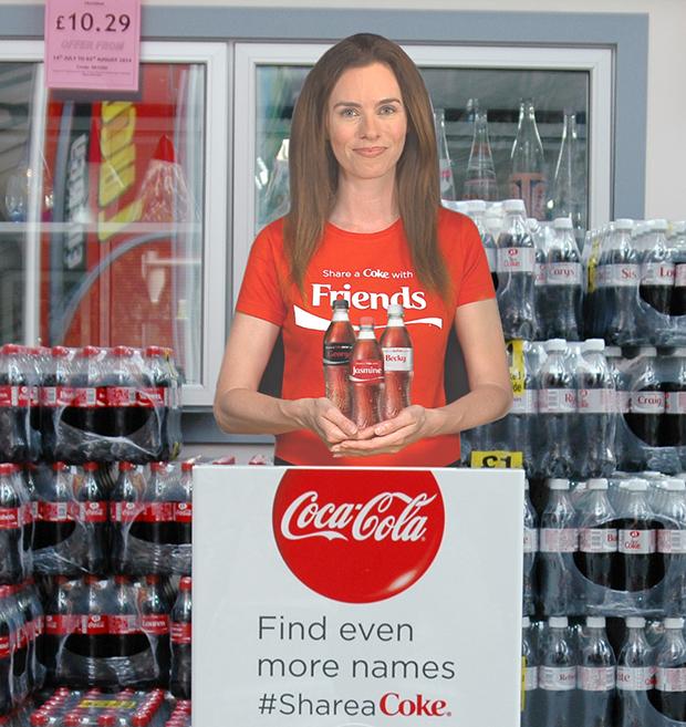 Tensator Virtual Assistant used for Coca Cola campaign