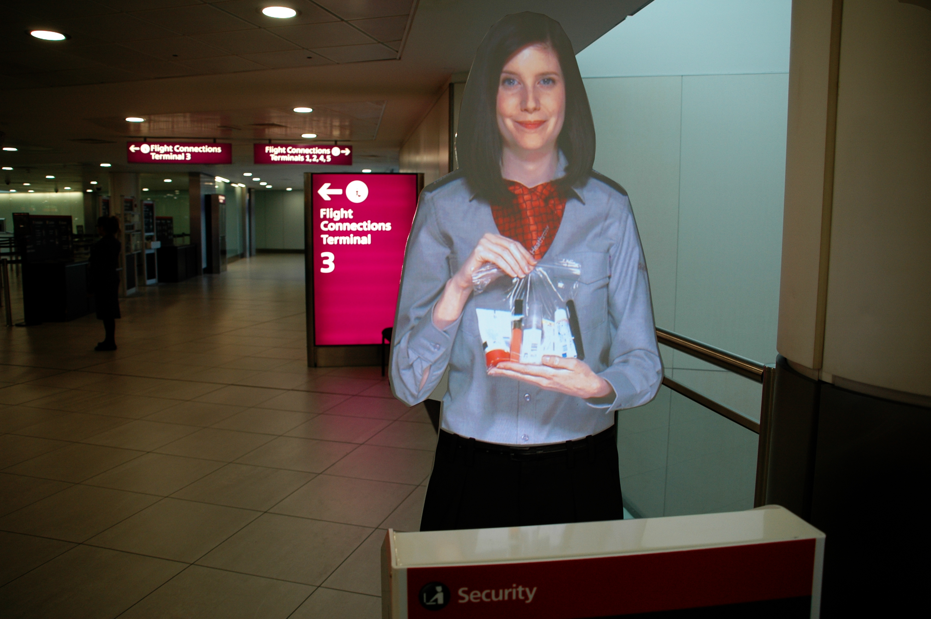VA Heathrow Tensator Virtual Assistant